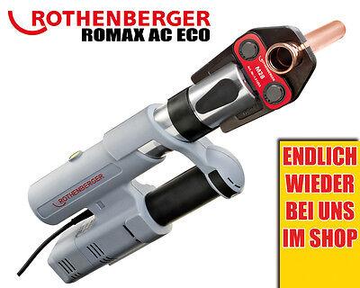 Rothenberger ROMAX Pressliner AC Eco Set Basic Pressmaschine Rocase Koffer