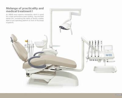 Dental Unit Chair Left & right hands used FDA CE Approved Top-mounted AL-388SB