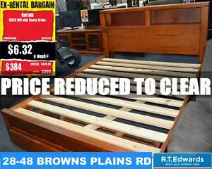 Norfolk Queen Bed with Drawers Browns Plains Logan Area Preview
