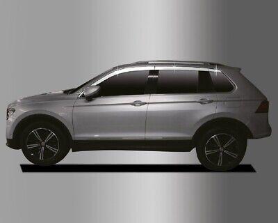 Accesorio Para VW Tiguan 2017-2020 Derivabrisas Repelente 8-er Kit Cromado