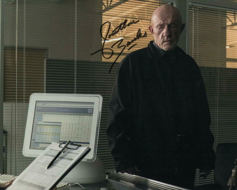 JONATHAN BANKS SIGNED AUTOGRAPH 8X10 PHOTO - BETTER CALL SAUL, BREAKING BAD STAR
