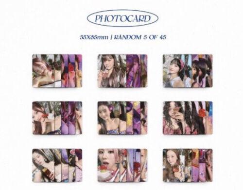 TWICE 10th Mini Album Taste of Love Photocard - TZUYU SANA MOMO MINA NAYEON