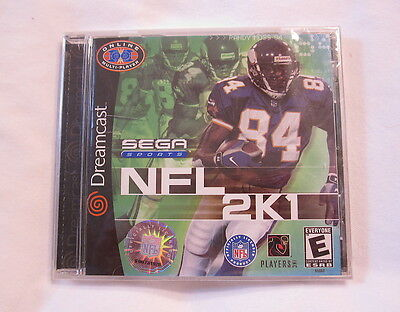 Nfl 2k1 (sega Dreamcast) Original Brand New, Sealed