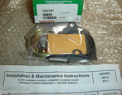 Asco 302301 Valve Repair Kit Solenoid Electric New