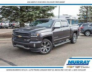 2016 Chevrolet Silverado 1500 LTZ *4WD *Leather *NAV *Backup Cam