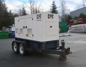 CATERPILLAR 134HP Generator With PERKINS Diesel Motor