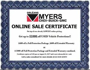 2015 GMC Canyon SLE CREW 4X4 TRAILER PACKAGE!!!