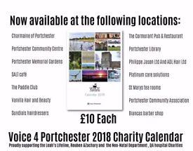 Portchester 2018 charity calendar