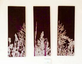 Three piece picture.