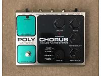 EHX Poly Chorus Effects Pedal