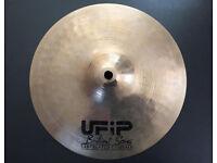 "UFiP Brilliant Series 10"" Splash Cymbal - Made in Italy - not Zildjian Sabian Paiste"