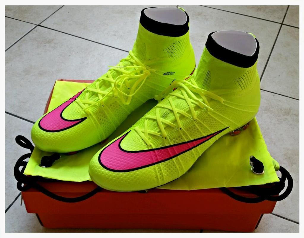 b416fa1be22 ... release date nike mercurial superfly fg volt hyper pink size uk 9 eur  44 football 70b41