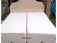 ***MUST GO TODAY*** - 'RELYON' KINGSIZE BED!! - - CAN ALSO BE USED AS 2 SINGLE BED'S - £65 ONO
