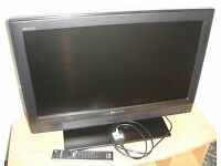 SONY Bravia TV : 26 inch LCD Colour Television : KDL-26U3000 : With Stand And Remote