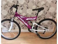Girls full suspension bike age 8-10