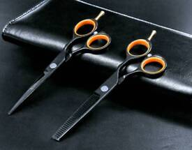 Professional 5.5inch Hair Cutting/Thinning Barber/Hairdressing Scissors Set
