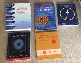 Physics books for sale