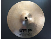 "UFiP Brilliant Series 10"" Splash Cymbal - Earcreated Made in Italy - cymbals drums"