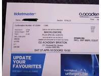 3 Macklemore tickets for Saturday April 7 at London Brixton Academy