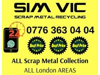 Free scrap metal collection in your Area   Top price paid   The same day collection