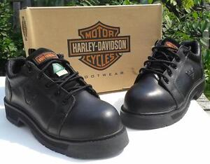NEW Harley-Davidson Non-Metallic Work Safety Shoes, Men's Size 9