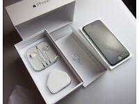 Apple iPhone 6 - 16GB - Space Grey (Unlocked) Boxed unused accessories