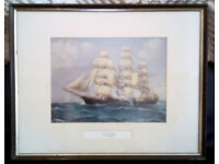 Vintage Picture Of The Cutty Sark By L. Papaluca, The Lone Stag / H N Christiansen, Yorkshire Relish