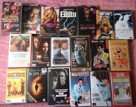 VHS movies and box set