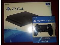 Brand New Playstation 4 Slim 1TB Plus Extra Controller (Delivery Available)