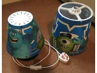 Monsters University Lamp shade curtain set