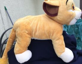 Disney store — extra large lion king soft toy 21 inches in length