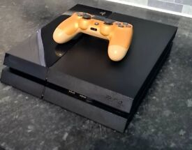 Playstation 4 console, fully refurbished with wireless pad