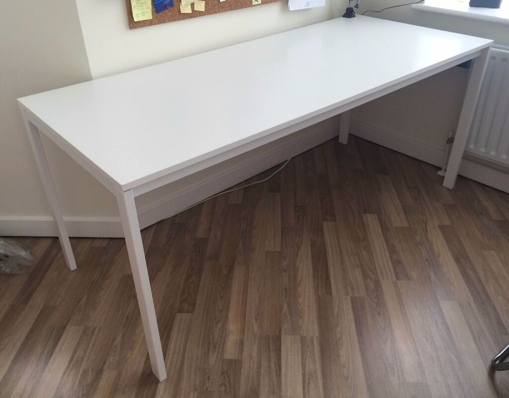 ikea melltorp m long dinning table for 6 desk in barnet london gumtree. Black Bedroom Furniture Sets. Home Design Ideas