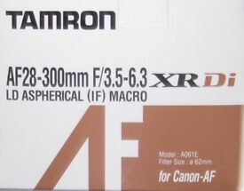 Macro Zoom Lens 28-300mm to fit Canon AF System