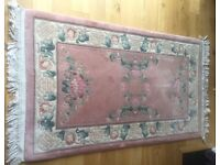 100% Wool Rug hardly used from John Lewis