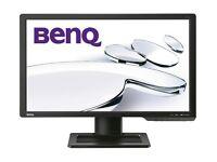 "24"" BenQ XL2410T LED, 3D, 120Hz Monitor 1920x1080 resolution"