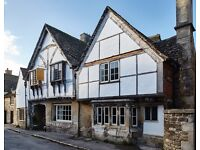 Housekeeper & Cleaner - in our historic 15th century Inn; 5 mornings (10 - 18 hours)