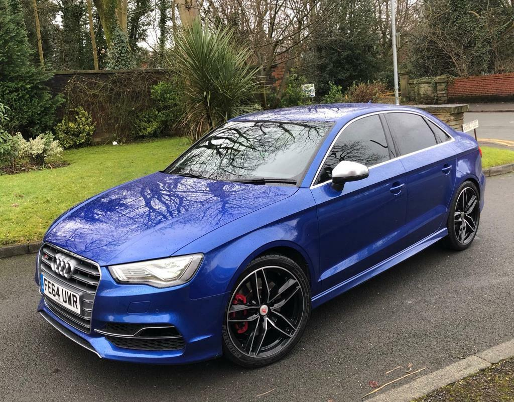 AUDI S3 TFSI S TRONIC SALOON+RARE SEPANG BLUE PAINT+2015+PART EX SWAP | in Oldham, Manchester ...