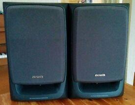 AIWA SX-Z1100 Bass Reflex Speakers