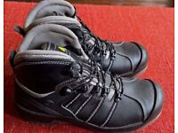Mens Delta Plus Nomad S3 Waterproof Safety Boots Black Size 44 / 10