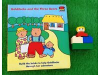 A Vintage Lego Duplo Book Goldilocks and the 3 Bears