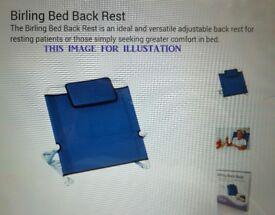BED BACK REST