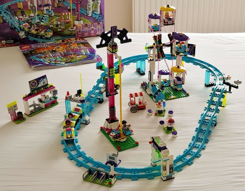 Lego 41130 - Lego Friends Amusement Park Roller Coaster - 100% complete  with Box and Instructions | in Paignton, Devon | Gumtree