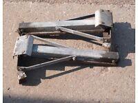 Caravan corner stabiliser legs, £30 or nearest offer