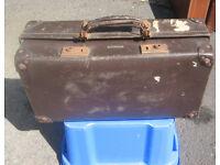 Vintage / Period Leather Suitcase Revelation Brand