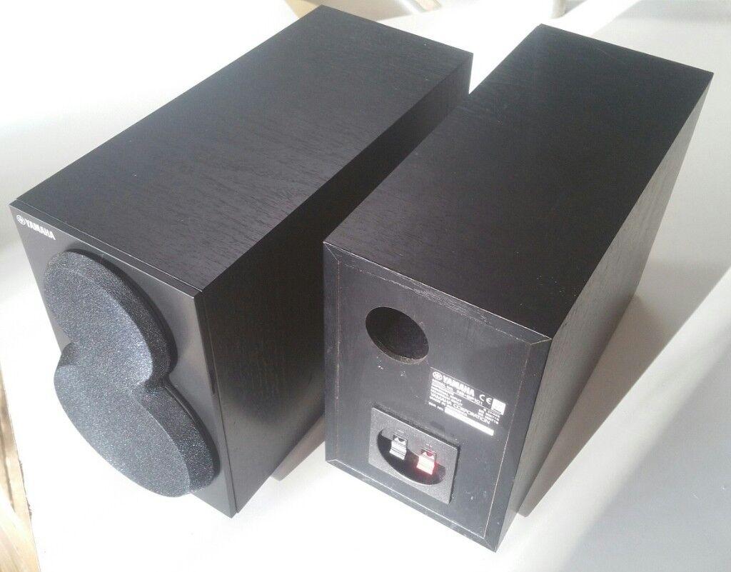 Yamaha Speakers Bookshelf Size Stereo Pair