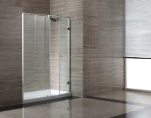 2 bases de douche en acrylique, OVE