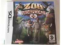 "Nintendo DS ""Zoo Hospital"" game"