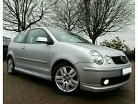 2004 VW POLO 1.9 TDI SPORT * 1 LADY OWNER FACTORY KIT IMMACULATE CAR* golf audi citroen fabia