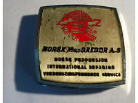 vintage norsk macgregor tape measure